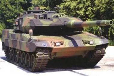 Leopard 2A6: ANTARANEWS.com Fotoquelle: Kompas.com