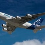 A380 in Jakarta Notgelandet