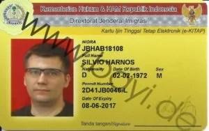Mein neuer Indonesischer Ausweis
