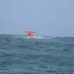 Flying Fisch - Das Luftkissen geht dank der seitlichen Flügel bis zu 30m in die Höhe