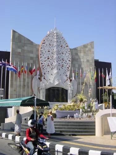 Gedenkstätte für die Opfer des Terroranschlages