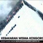 Jakarta: Bürotower in Flammen