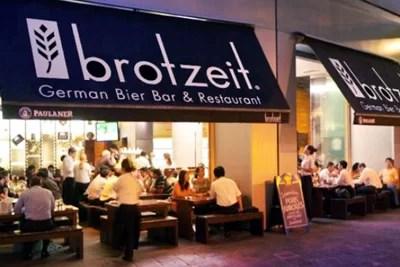 Restaurant Brotzeit Singapur