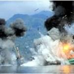 Indonesien setzt 5 Kriegsschiffe und 1 Flugzeug ein um Fischdiebstahl zu verhindern