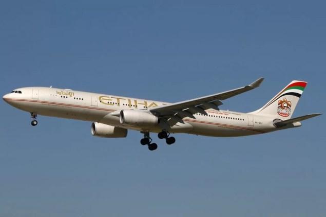 Airbus A330-300 der Etihad / Foto: Robert Underwood / Wikipedia