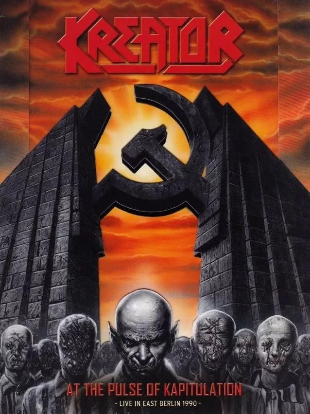 Symbol des Auftritts in Berlin 1990 der deutschenThrash-Metal-Band Kreator