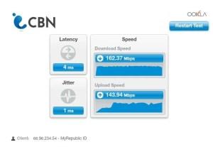 Meine Internet Geschwindigkeit ist Super