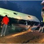 Erneut schwerer Busunfall in Indonesien