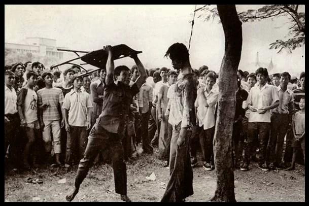 Völkermord - Lynchjustiz bei den Massakern in Indonesien ab 1965 Foto: Pfitzi / pluspedia.org