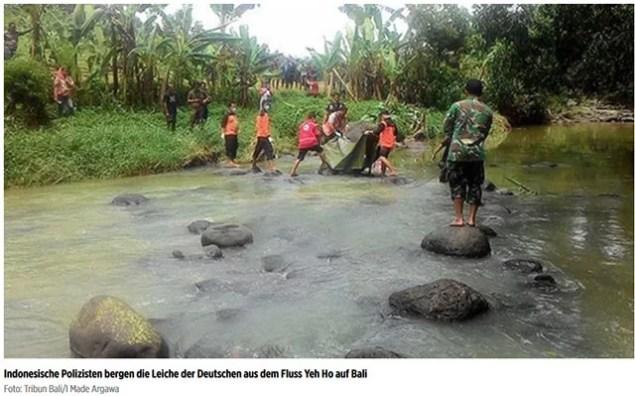 Deutsche auf Bali ermordet / Screenshot Bild.de