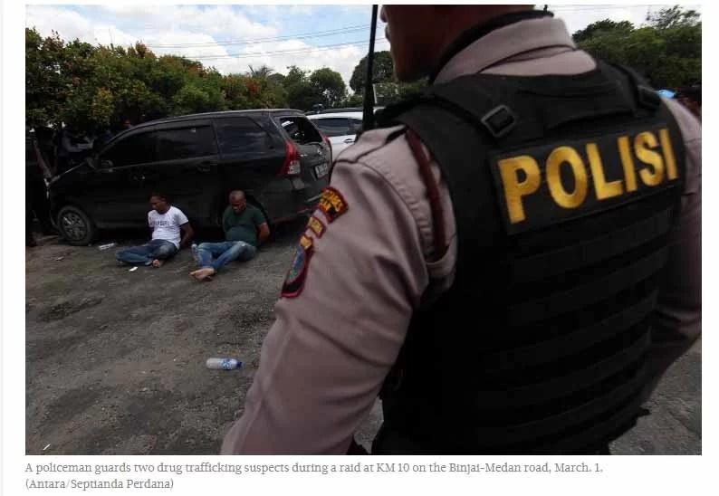 80 Menschen von der Polizei erschossen / Screenshot Jakarta Post