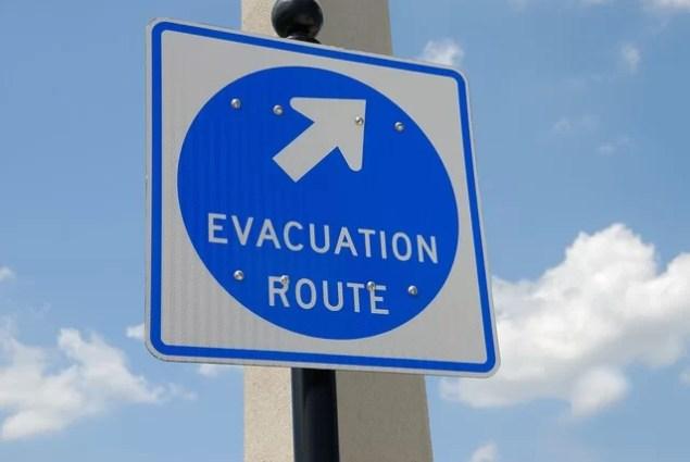 Bali plant Touristen Evakuierung