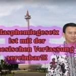 Verfassungsgericht urteilt für Blasphemiegesetz