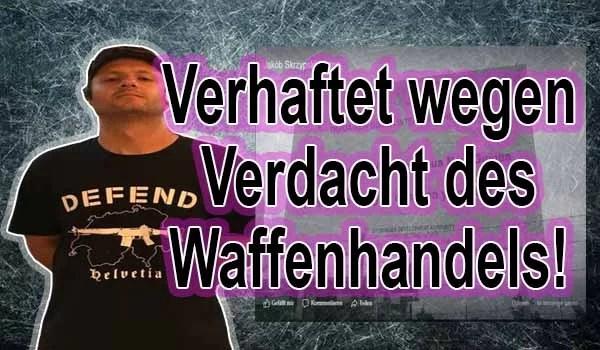 Ein aus der Schweiz stammende Pole ist des illegalen Waffenhandel verdächtig Fotocollage  Facebook