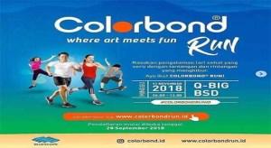 Mein erster offizieller 5-KM-Lauf - Colorbond • 2018