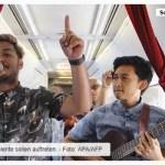 Livekonzerte auf Inlandsflügen