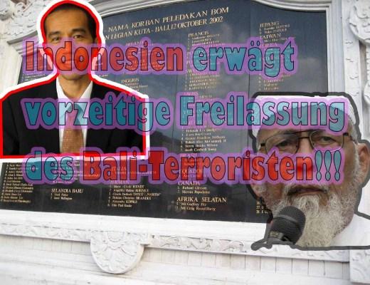 Freilassung des Bali Terroristen soll Stimmen bringen