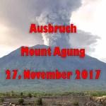 Agung auf Bali erneut ausgebrochen