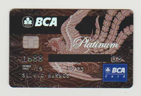 Die Kreditkarte ist da