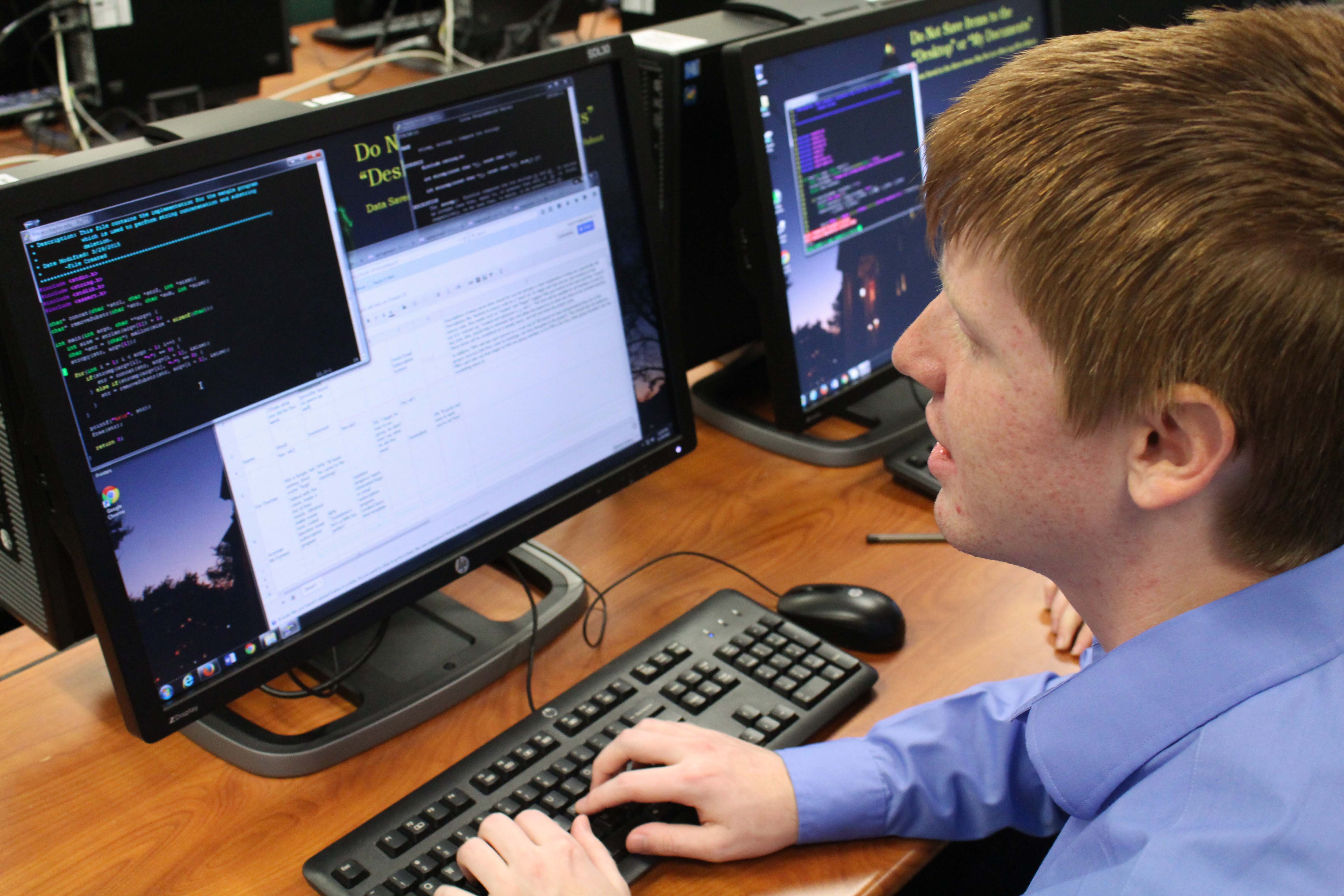 Giving Back Baylor Students Use Technology Skills To