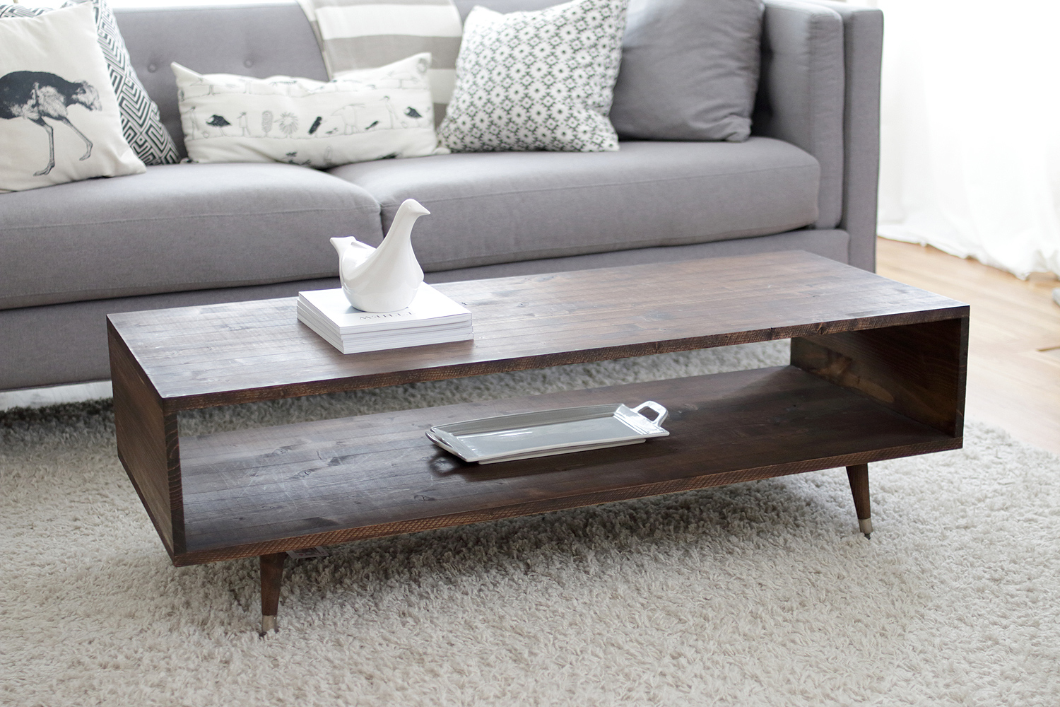 own mid century modern coffee table