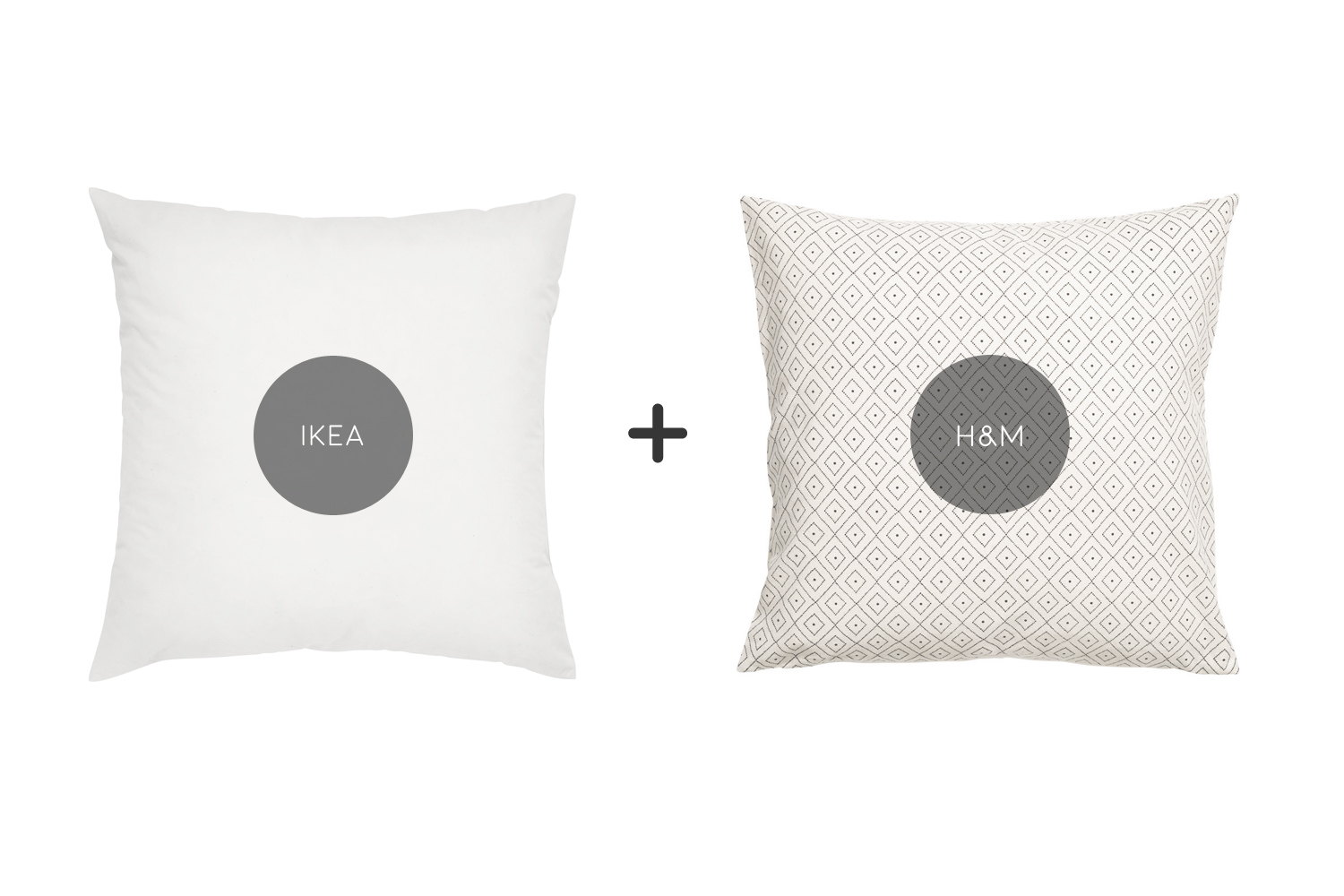 how to get throw pillows for dirt cheap