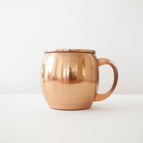 Threshold copper mule mug