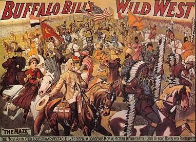 Affiche du Wild West Show de Buffalo Bill