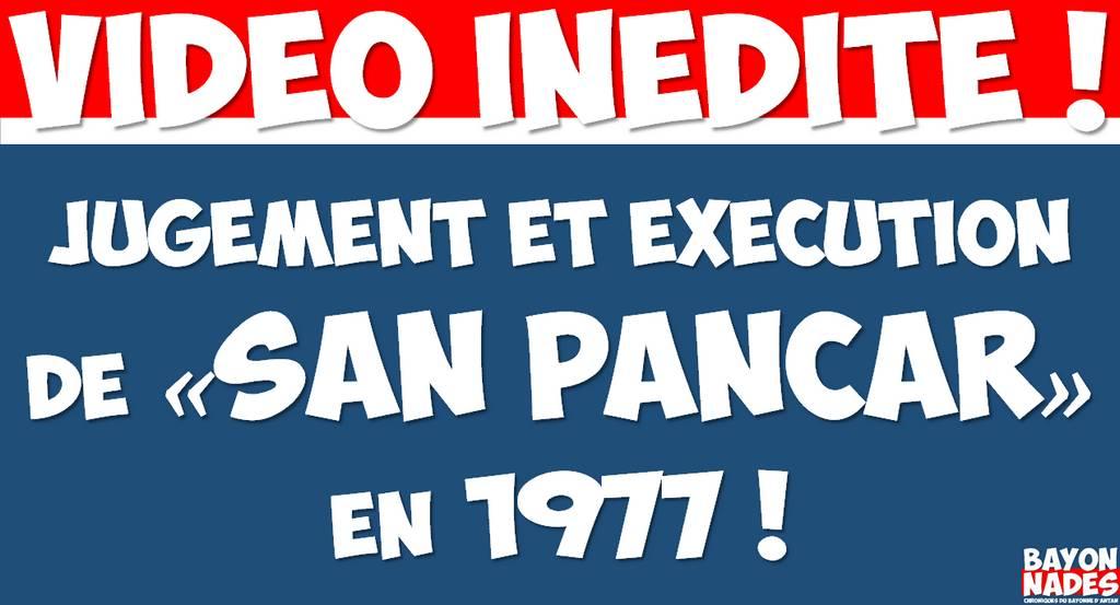 San Pançar condamné en 1977 !