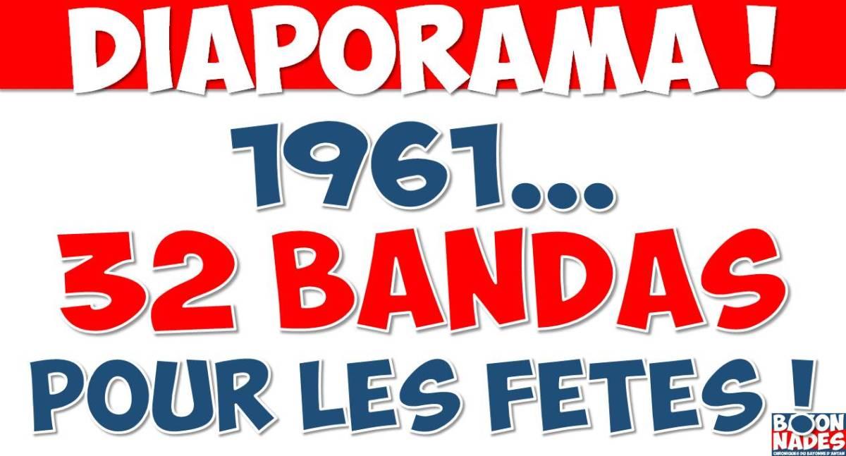 1961 32 bandas pour les Fêtes !