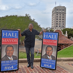 In the race for Alexandria mayor, state Rep. Jeff Hall loads his campaign with massive debt.