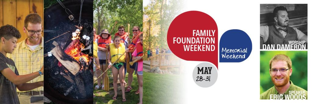 Family Foundation Weekend banner