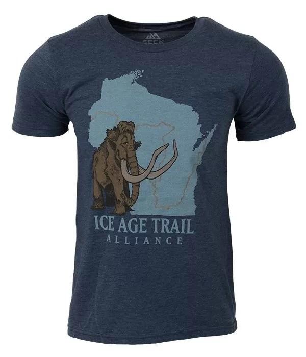 Seek Dry Goods Ice Age Trail Core Logo T-Shirt