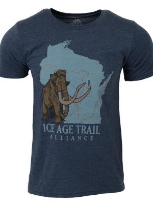 Ice Age Trail shirt with mammoth