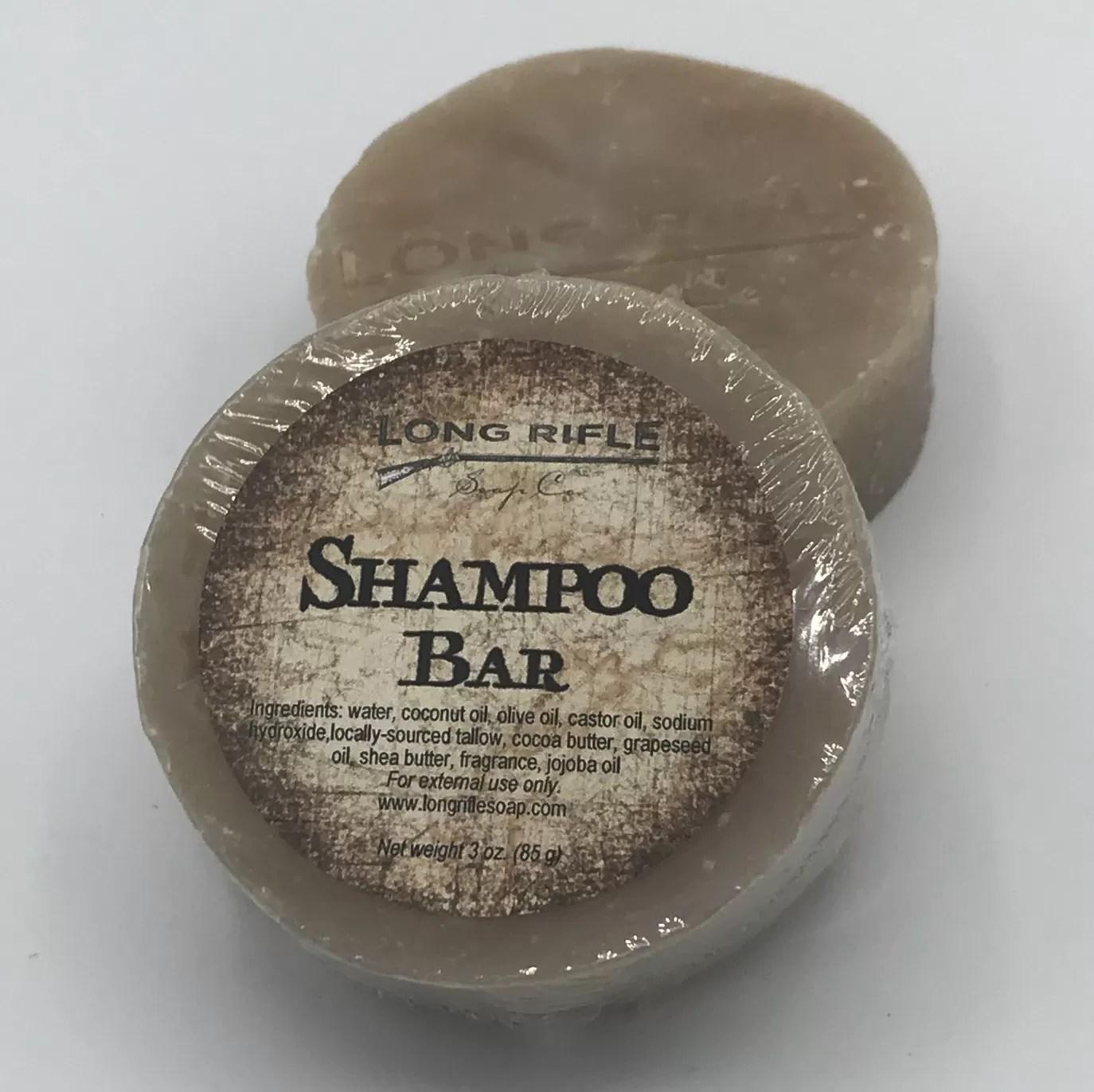 Long Rifle Shampoo Bar