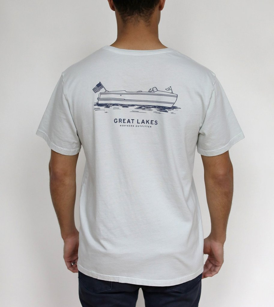 Great Lakes Vintage Boat S/S