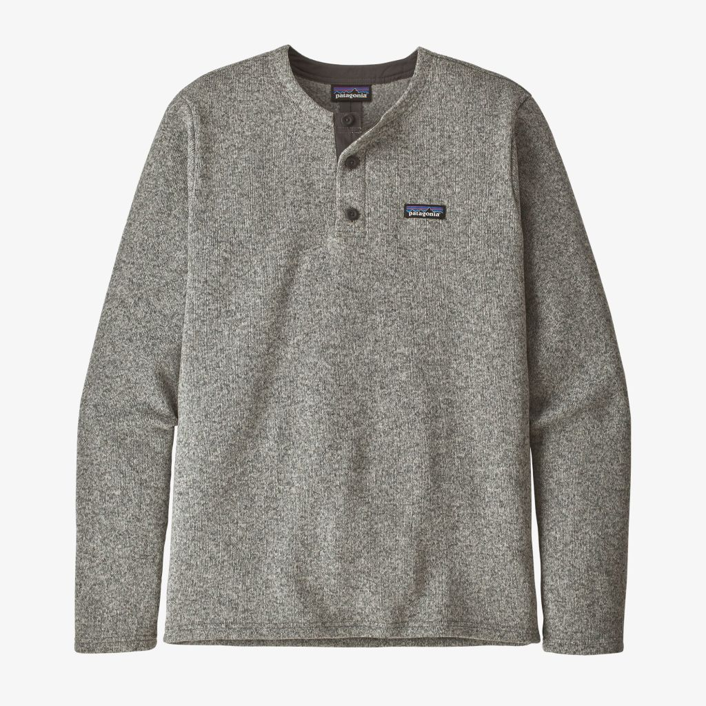 Patagonia M Better Sweater Henley P/O