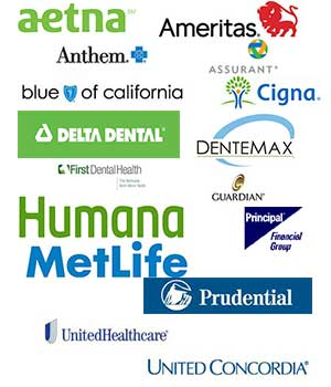 Dental Insurance aetna ameritas anthem assurant blue cross of california blue shield cigna delta dental dentemax first dental health guardian humana metlife principal financial prudential united healthcare united concordia