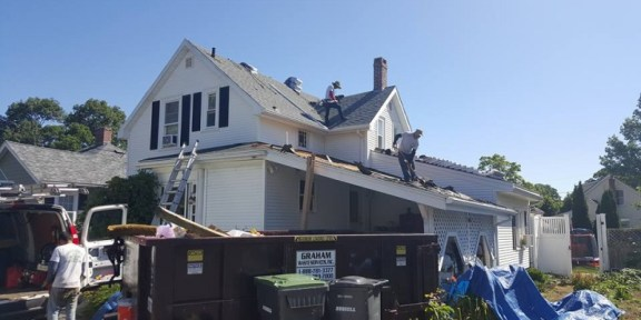 residential roof installation Dedham MA