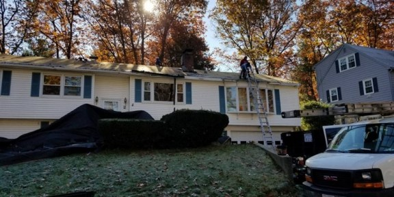 roof replacement in Saugus MA