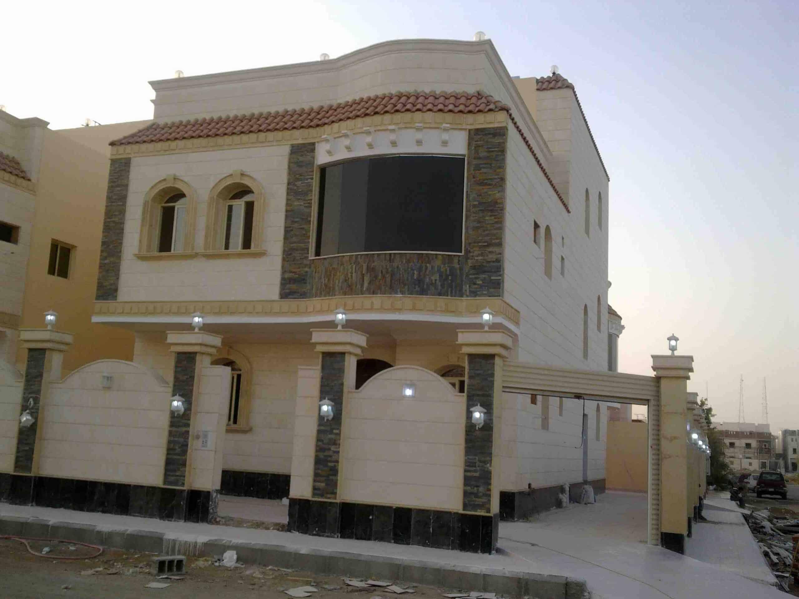 واجهات منازل سعودية