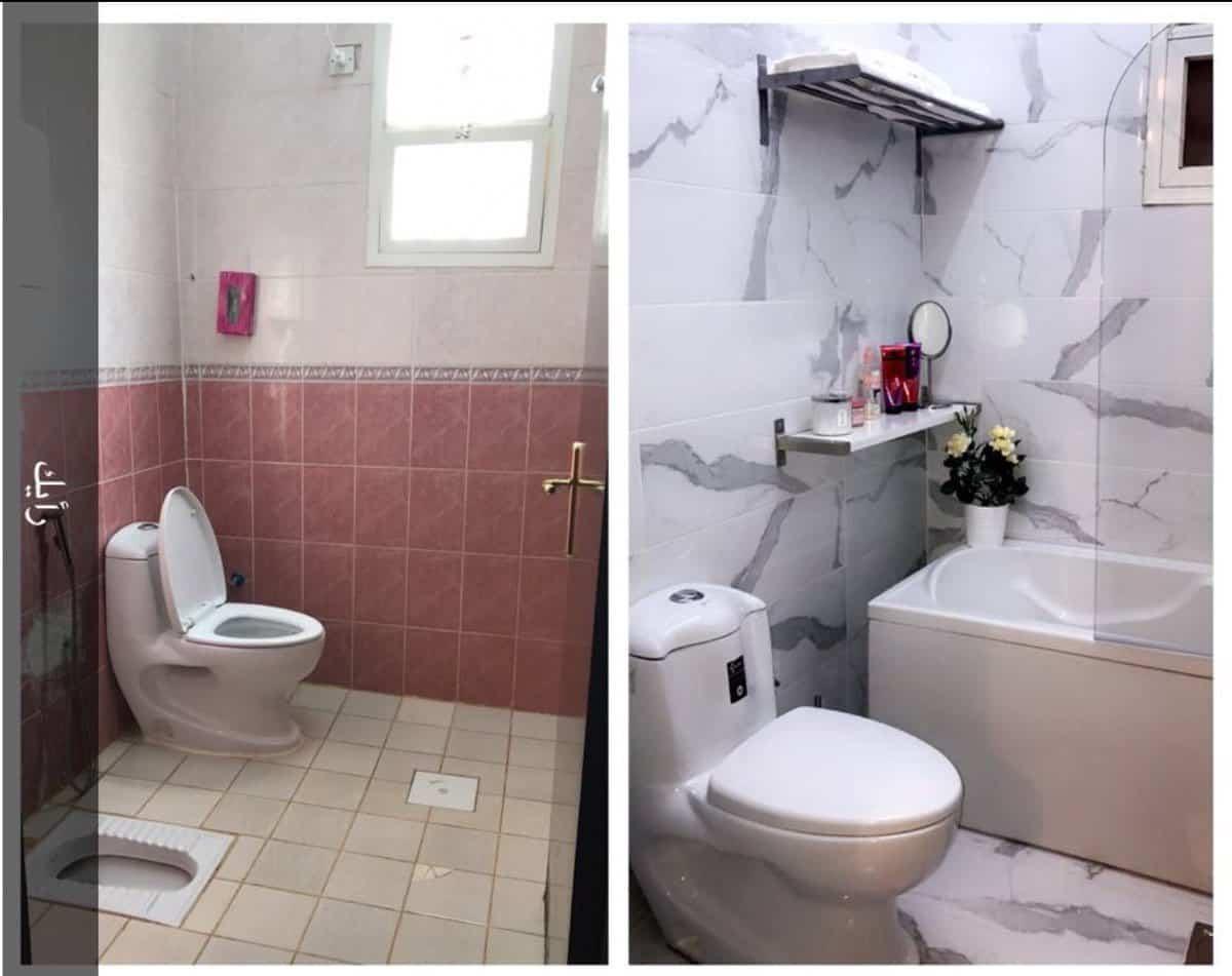 تجديد الحمام بأقل التكاليف