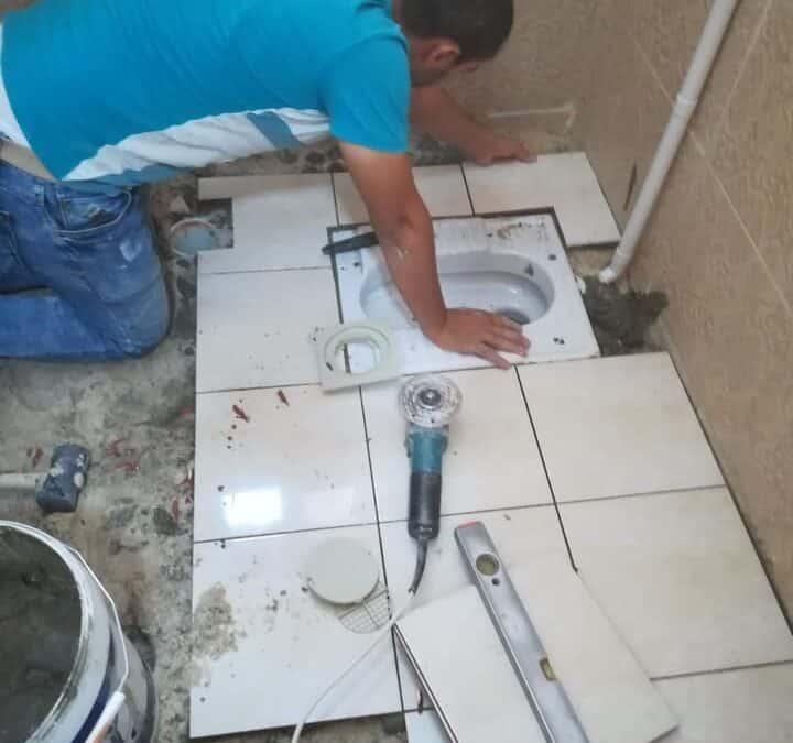 شركة ترميم حمامات بالرياض 0536287874 | تأسيس صرف الحمام