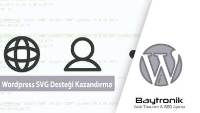 Photo of WordPress Sitenize SVG Formatı Görsel Yükleyin