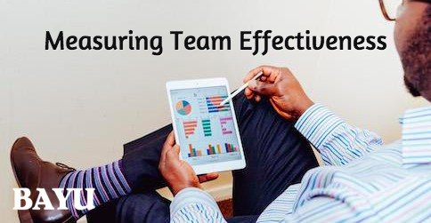 Measuring Team Effectiveness