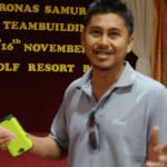 Participant Testimonial Video for Petronas Team Building