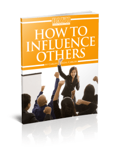 How To Influence Others eCourse