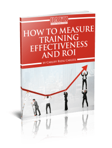How to Measure Training Effectiveness and roi eBook