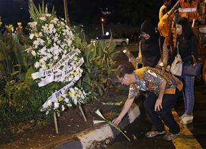 Report: Cops found ISIS flag after  Jakarta attack