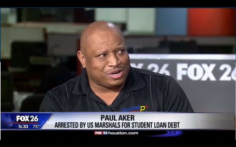 The United States Marshal Service is arresting people over student loan debt
